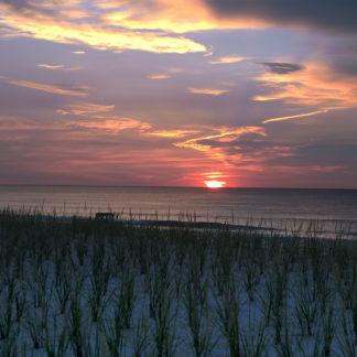 Michael Ortega Photographer Blue Sunrise on North Beach