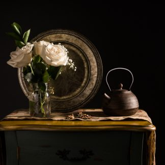 White Roses and Tea
